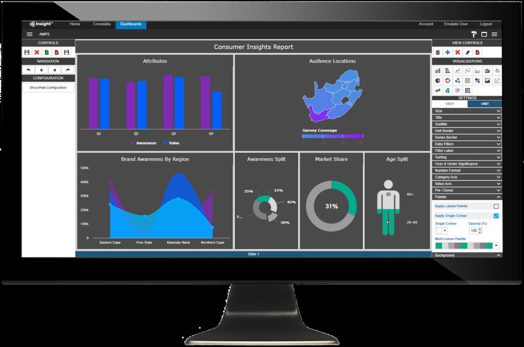 insight vx on monitor
